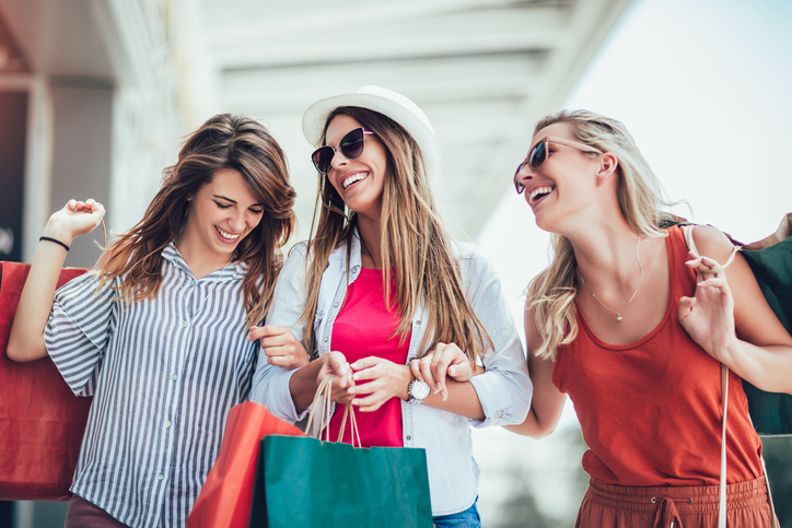 Women Enjoying Shopping In Jacksonville, FL